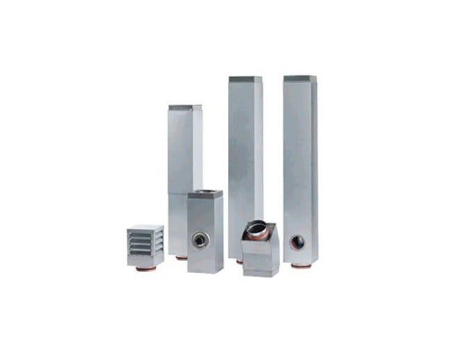 Steel flue CaminQUADRO aluzinc - IPIESSE