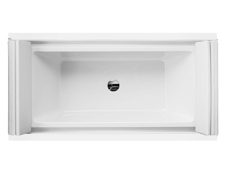 Built-in rectangular bathtub SUNDECK | Built-in bathtub - DURAVIT