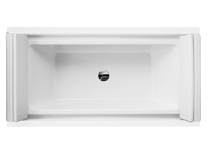 Built-in rectangular bathtub SUNDECK | Built-in bathtub - DURAVIT