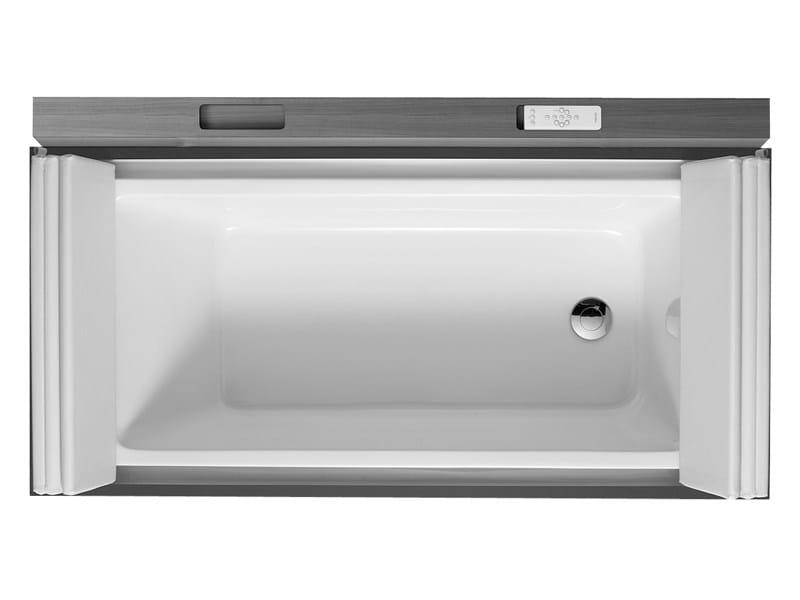 Rectangular bathtub on legs SUNDECK | Bathtub on legs - DURAVIT