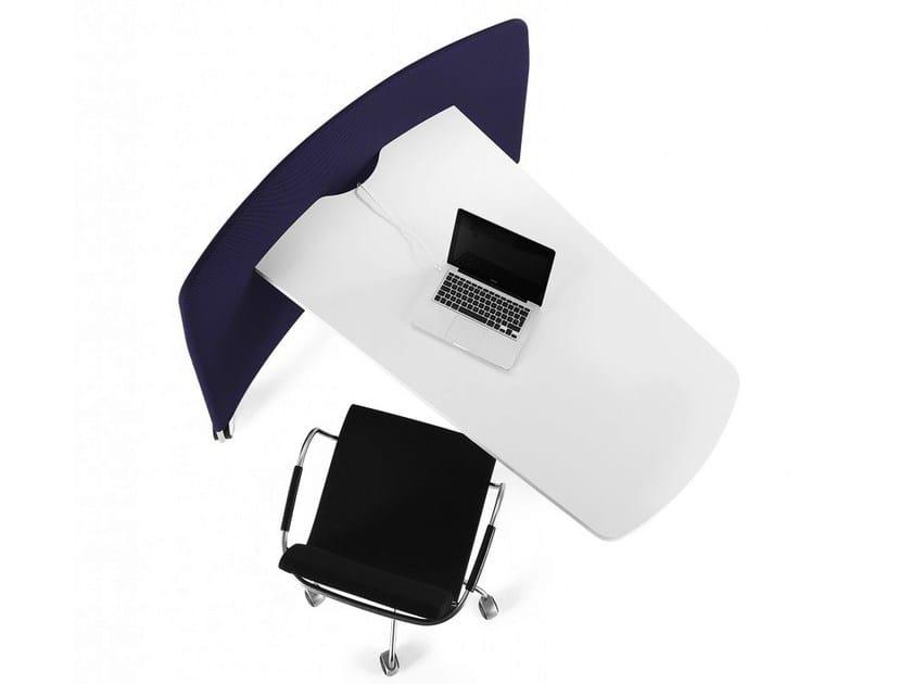 Workstation desk MOBI - Abstracta