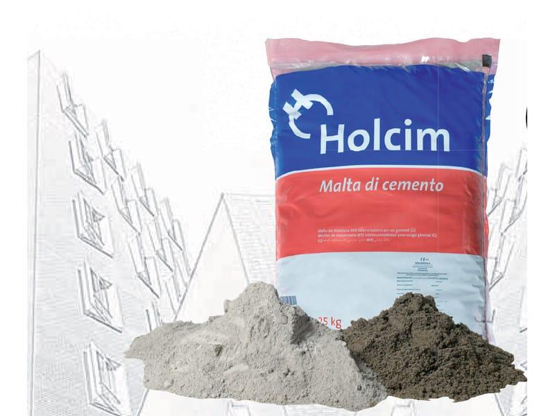Mortar for masonry Malta di Cemento M15 - Holcim (Italia)