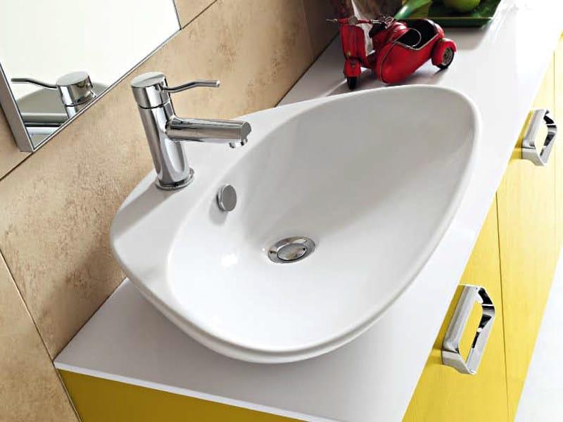 Countertop washbasin PLETTRO - Cerasa