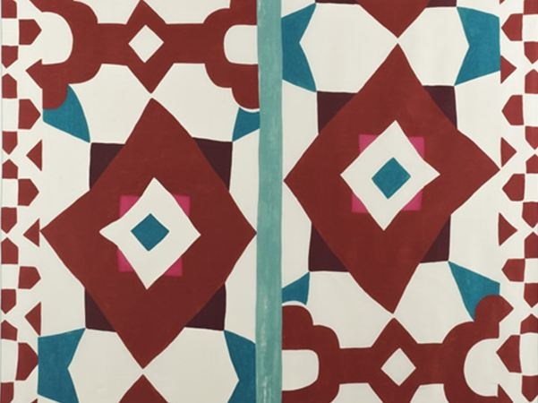 Silk fabric for curtains SOLEIL QUI BRILLE - Dedar