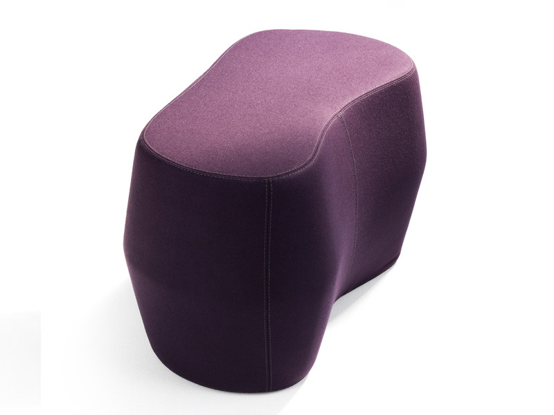 Fabric pouf ROCK'D - Abstracta