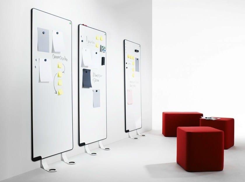 Lavagna per ufficio magnetica modulare sketchalot by for Lavagne da arredo