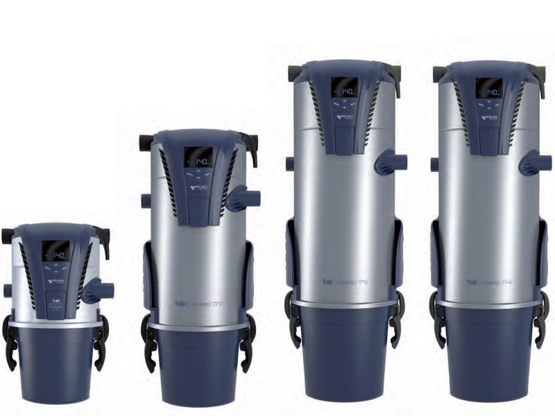 Central vacuum cleaner TPA-TP - AERTECNICA