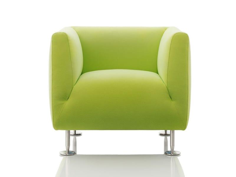 Upholstered armchair ARDEA | Armchair - Wittmann