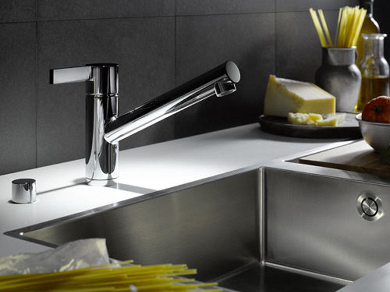 Kitchen mixer tap with swivel spout ENO | Kitchen mixer tap - Dornbracht
