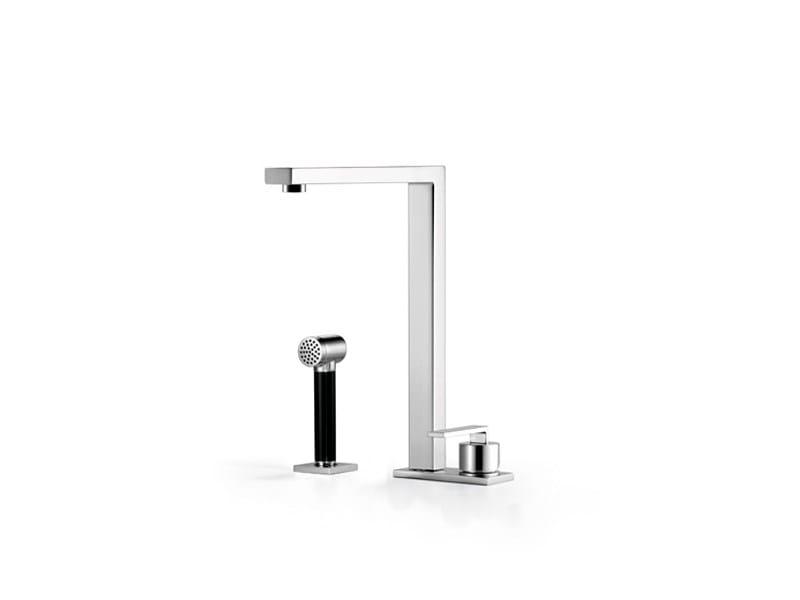 Kitchen mixer tap with spray 32 843 680 | Kitchen mixer tap with spray - Dornbracht