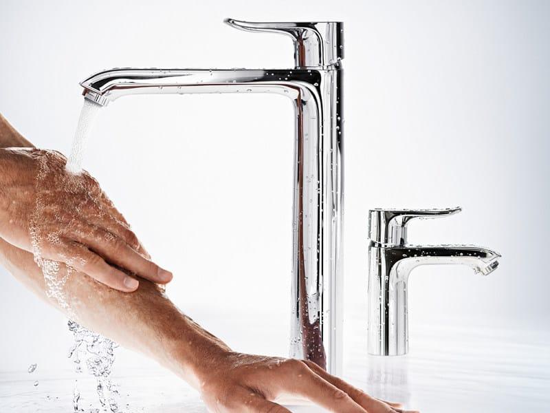 1 hole washbasin mixer METRIS E² - HANSGROHE