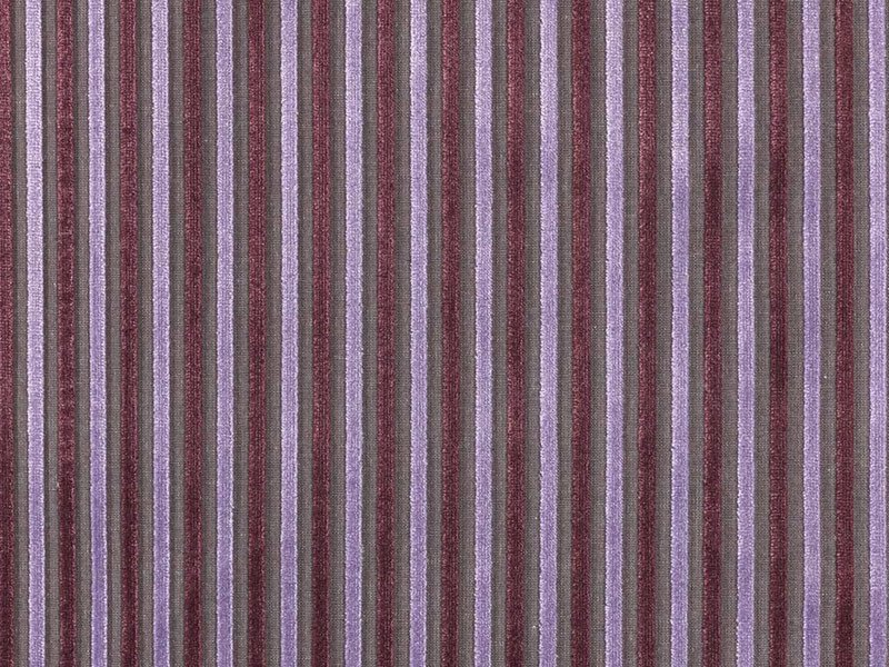 Striped viscose fabric for curtains MIXAGE - Dedar