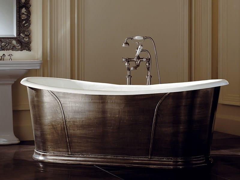Vasca da bagno centro stanza in ghisa camelot devon devon - Vasca da bagno in ghisa ...