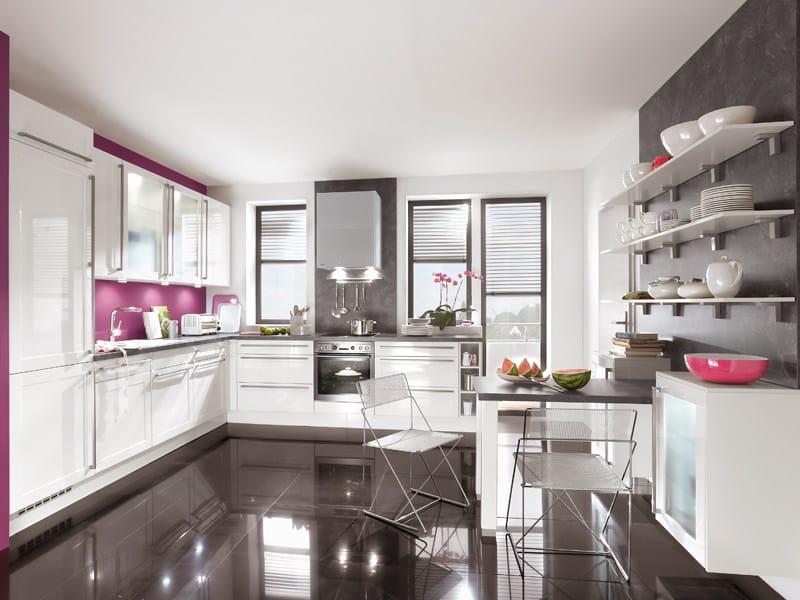 cucina laccata arte 522 by nobilia werke. Black Bedroom Furniture Sets. Home Design Ideas