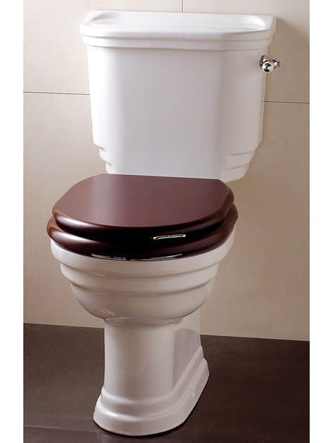 Close coupled ceramic toilet CLASSICA | Close coupled toilet - Devon&Devon