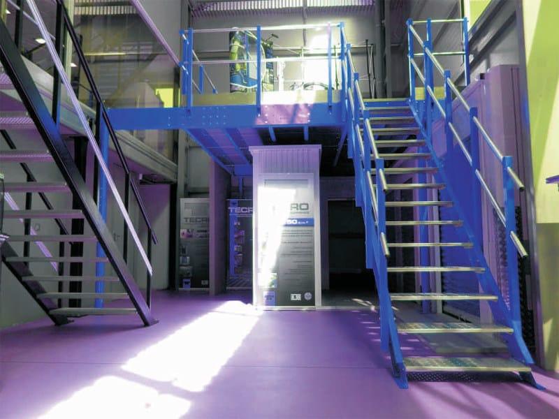 Steel Mezzanine T30 | Mezzanine by SVELT
