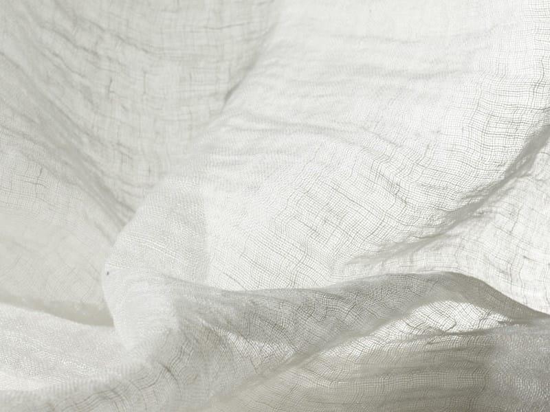 Solid-color washable sheer linen fabric COLIBRI' - Dedar