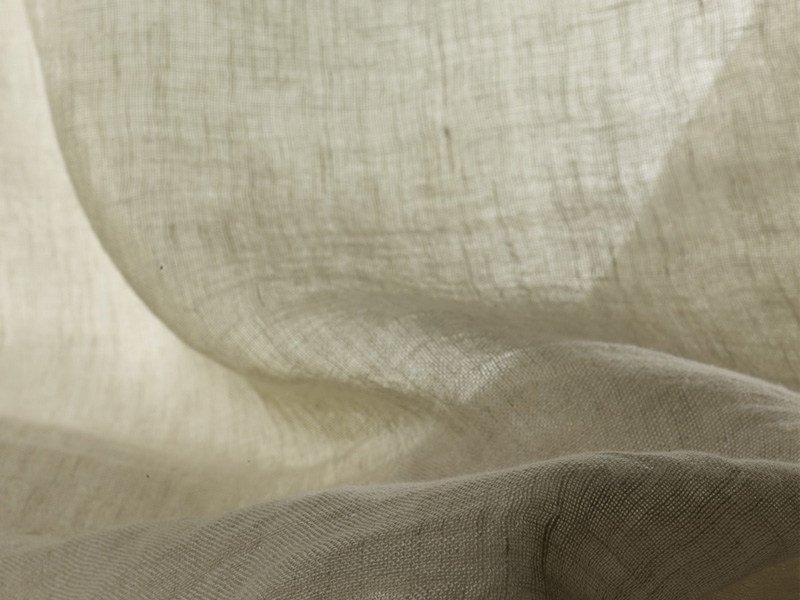 Solid-color washable linen fabric for curtains TRILLY - Dedar