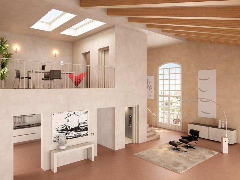 Hydraulic house lift HE 30 ORION by ThyssenKrupp Encasa