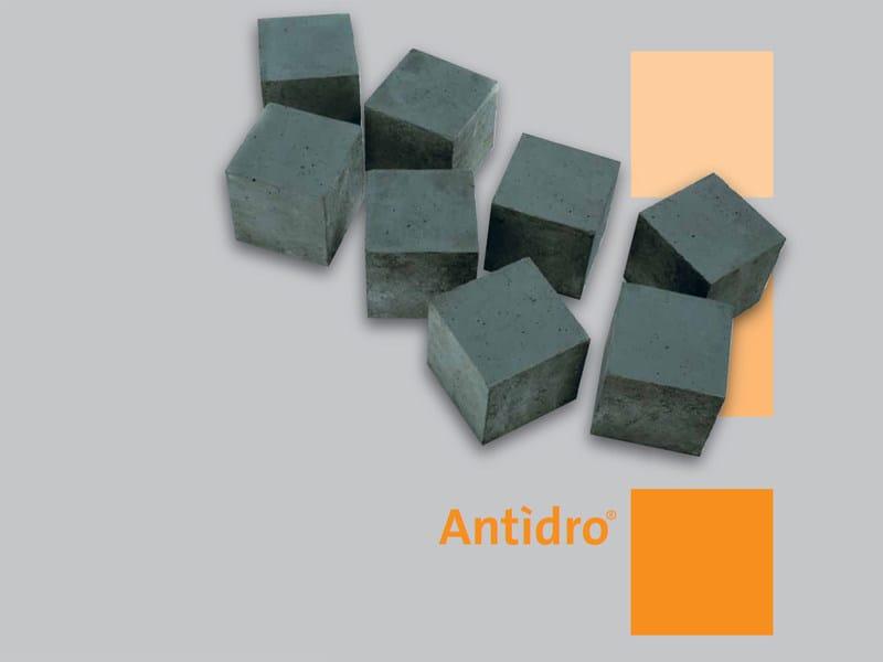 Pre-mixed structural concrete Antìdro® - Holcim (Italia)