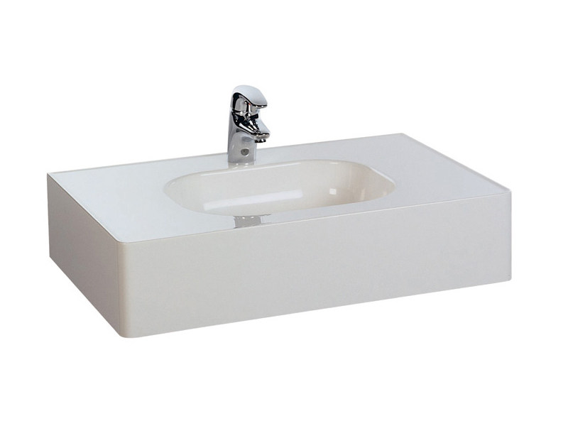 Washbasin rectangular in pietraluce MINI - Technova