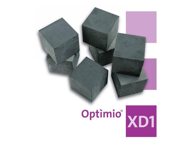 Pre-mixed structural concrete Optìmio® XD1 - Holcim (Italia)