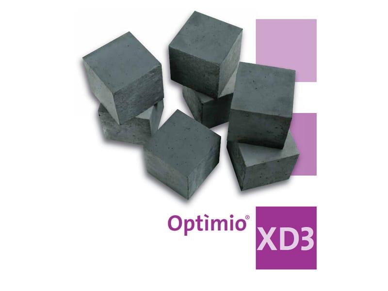 Pre-mixed structural concrete Optìmio® XD3 - Holcim (Italia)