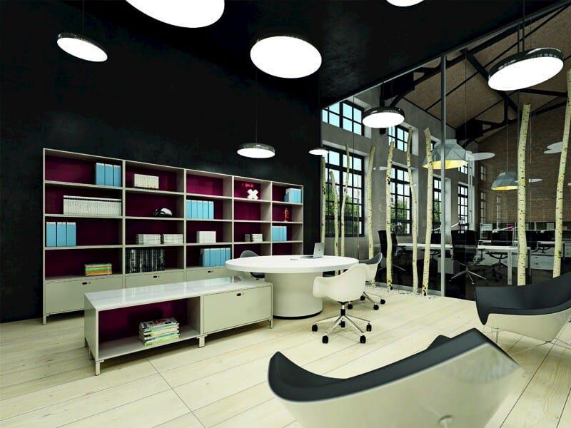 mobile ufficio modulare in metallo design dotbox mobile