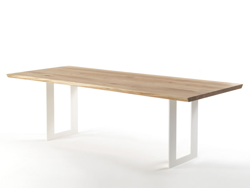 Wooden table DARWIN NATURAL SIDES - Riva 1920