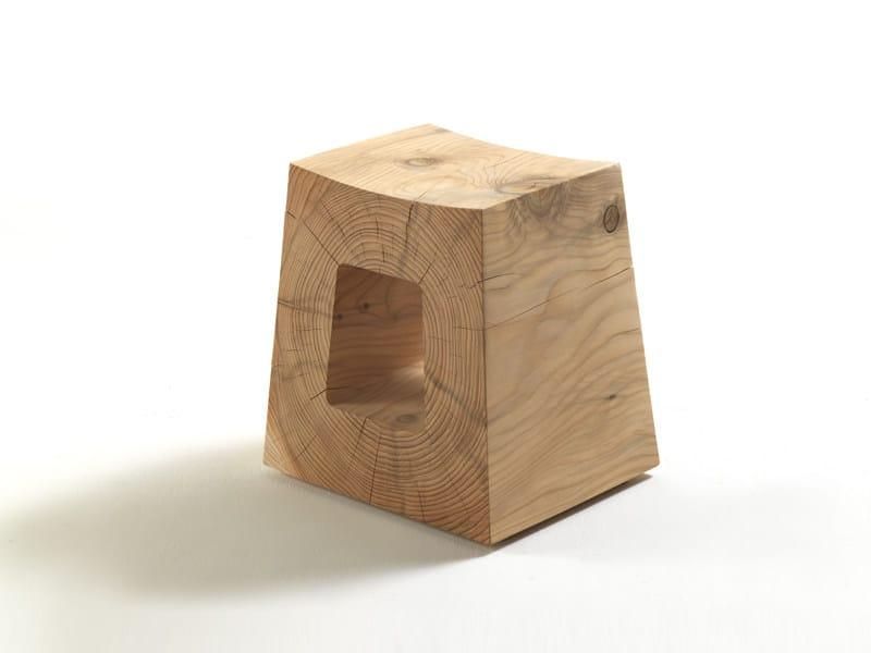 Wooden stool TIVI - Riva 1920