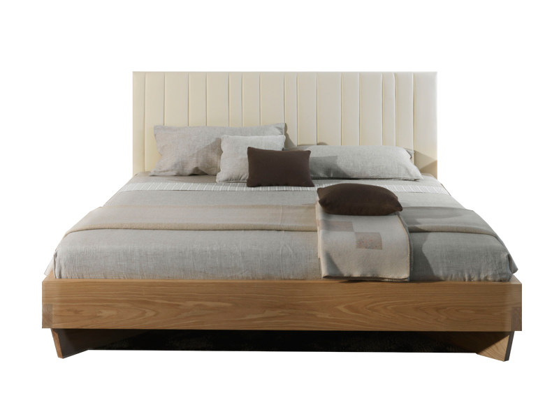Wooden double bed VEZIO - Riva 1920