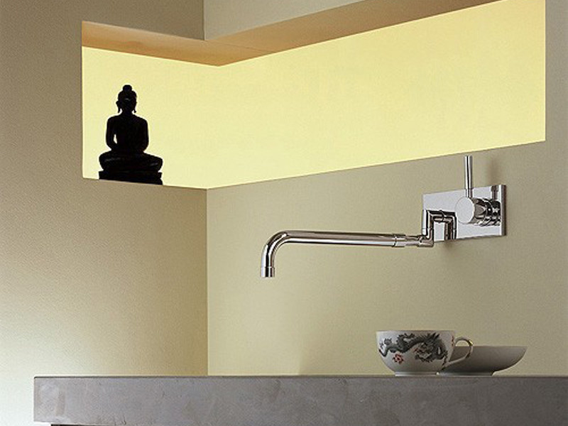 Rubinetto da cucina a muro 36 834 625 miscelatore da - Rubinetto a muro cucina ...