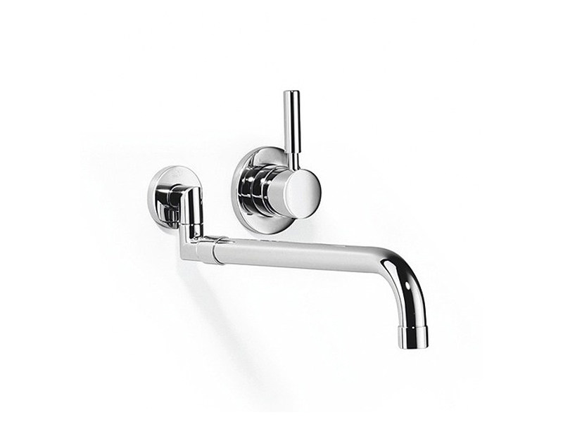 Wall-mounted kitchen tap with pull out spray 36 851 625 | Kitchen mixer tap - Dornbracht
