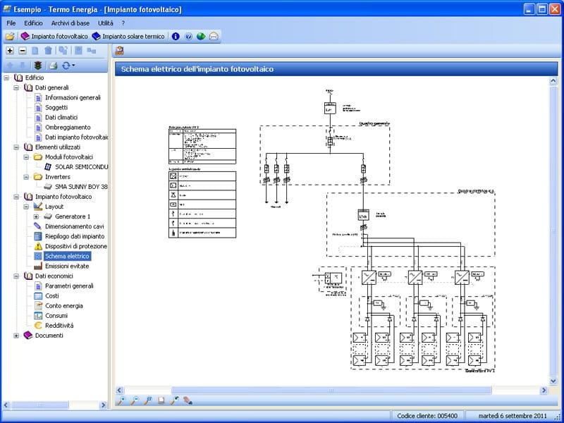 Schema Elettrico Fotovoltaico : Calcolo impianto solare termico fotovoltaico termo