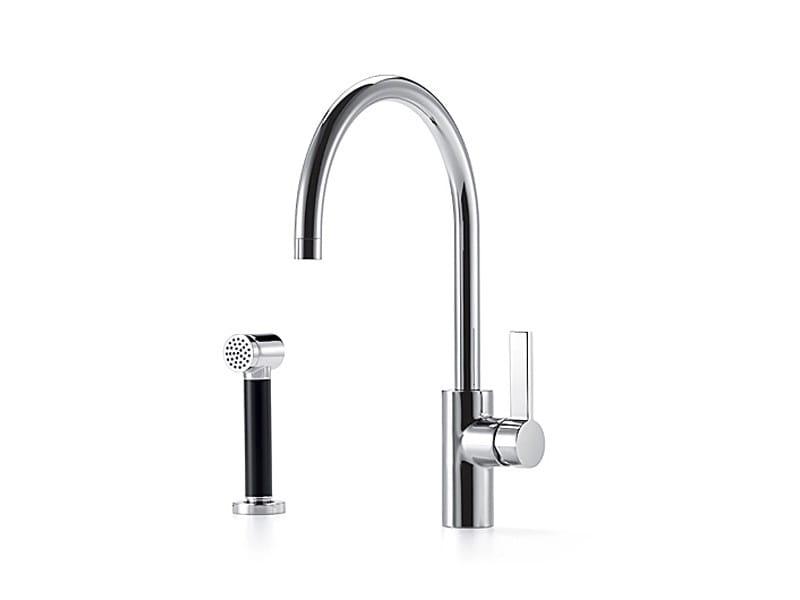 Kitchen tap with spray 33 826 875 | Kitchen mixer tap with spray - Dornbracht