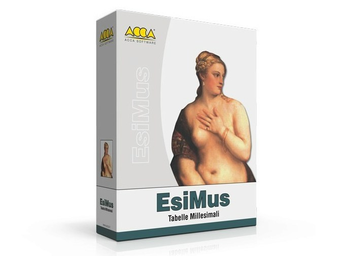 Millesimal tables EsiMus - ACCA software