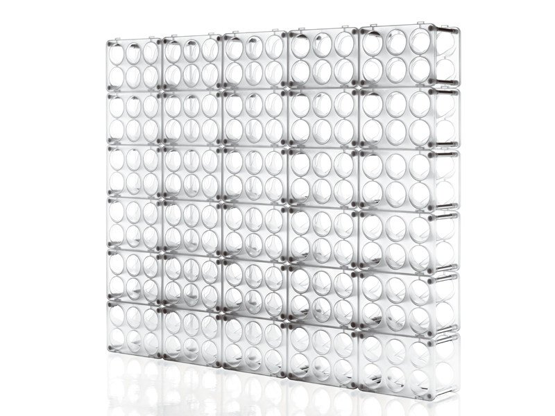 Polypropylene bottle rack BOTTLE by Magis
