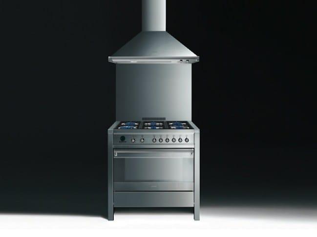 A1d 6 cucina a libera installazione by smeg - Cucina libera installazione smeg ...