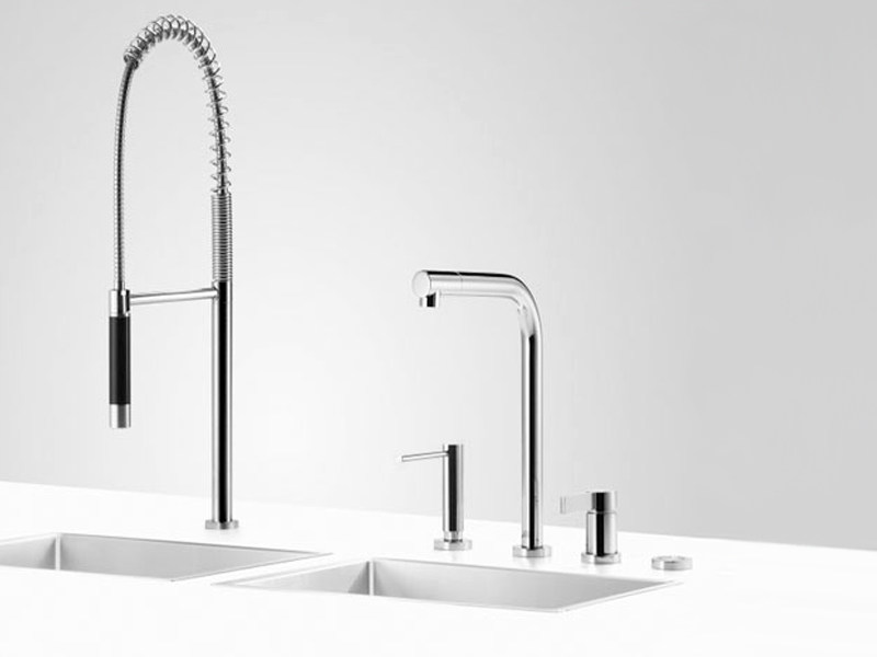 Kitchen tap with spray CLEAN SET 6 - Dornbracht