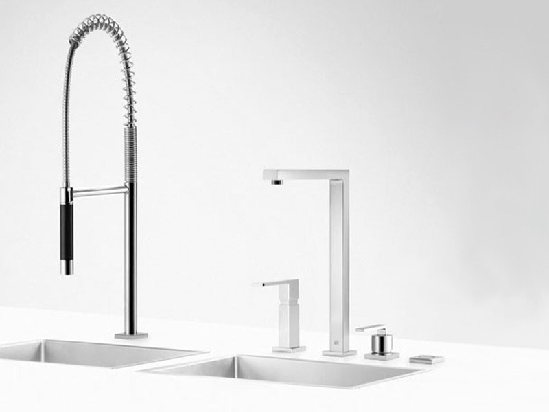 Kitchen tap with spray CLEAN SET 8 by Dornbracht