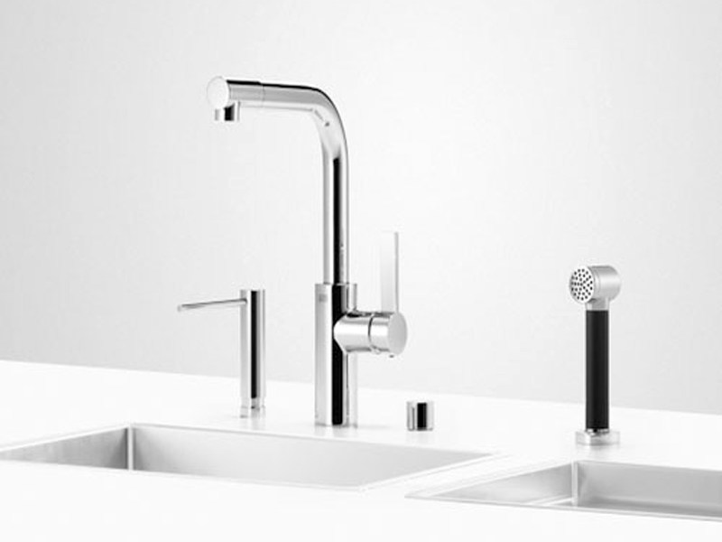 Kitchen tap with spray UNI SET 4 by Dornbracht