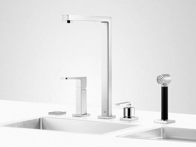 Kitchen tap with spray UNI SET 7 - Dornbracht