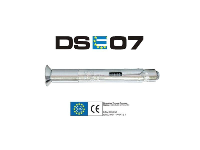 Galvanized steel Wall plug DSE07 - TECFI