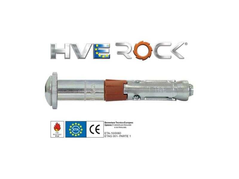 Galvanized steel Wall plug HVE04 - TECFI