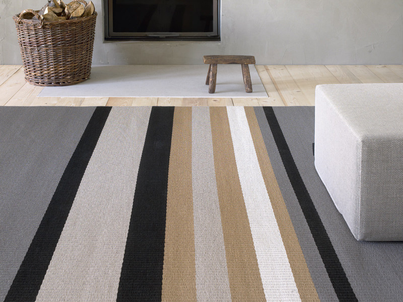 Striped rug HORIZON - Woodnotes