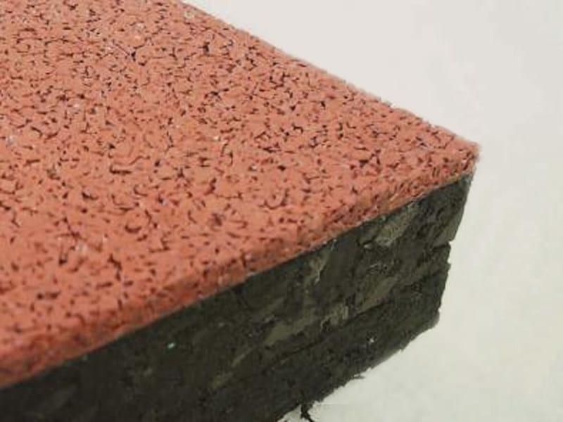 Shock-proof floor tile Pavimento in EPDM - Piesse