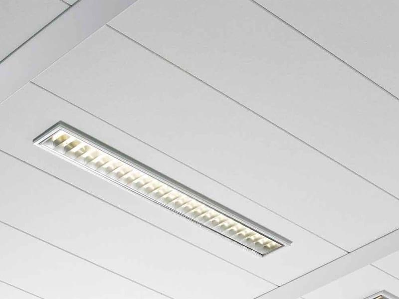 Pannelli per controsoffitto fonoassorbente in fibra minerale THERMATEX ALPHA HD by Knauf AMF ...