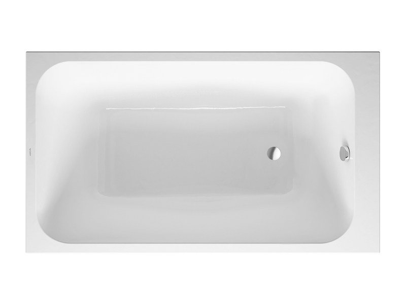 Rectangular acrylic bathtub DURASTYLE | Bathtub - DURAVIT