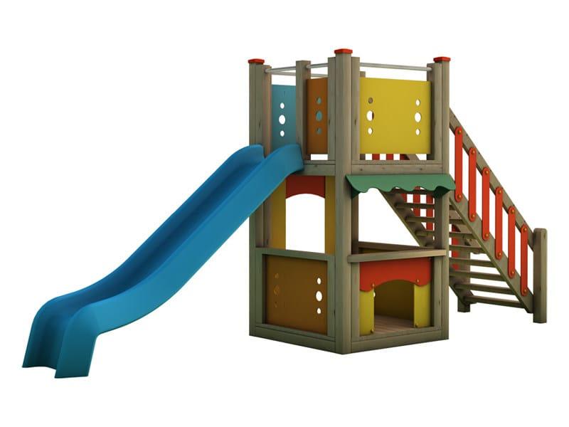 Play structure MAGIC CITY | 1001 - INDUSTRIA LEGNAMI TIRANO