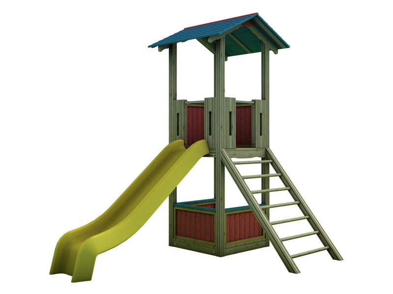 Play structure COUNTRY | 2001 - INDUSTRIA LEGNAMI TIRANO